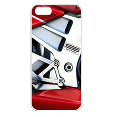Footrests Motorcycle Page Apple iPhone 5 Seamless Case (White)