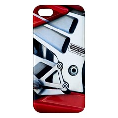Footrests Motorcycle Page Iphone 5s/ Se Premium Hardshell Case