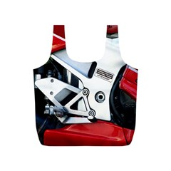 Footrests Motorcycle Page Full Print Recycle Bags (S)