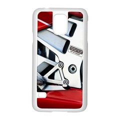 Footrests Motorcycle Page Samsung Galaxy S5 Case (White)