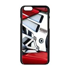 Footrests Motorcycle Page Apple iPhone 6/6S Black Enamel Case