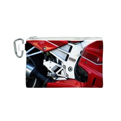 Footrests Motorcycle Page Canvas Cosmetic Bag (s)