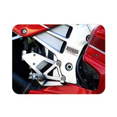 Footrests Motorcycle Page Double Sided Flano Blanket (mini)