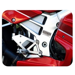Footrests Motorcycle Page Double Sided Flano Blanket (medium)
