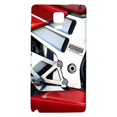 Footrests Motorcycle Page Galaxy Note 4 Back Case
