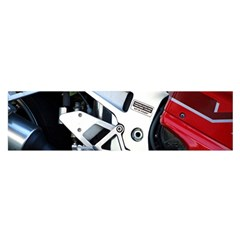 Footrests Motorcycle Page Satin Scarf (Oblong)