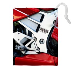 Footrests Motorcycle Page Drawstring Pouches (XXL)