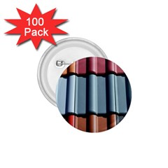Shingle Roof Shingles Roofing Tile 1.75  Buttons (100 pack)