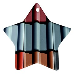 Shingle Roof Shingles Roofing Tile Star Ornament (two Sides)