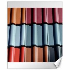 Shingle Roof Shingles Roofing Tile Canvas 16  x 20