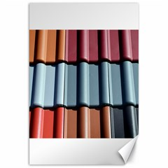 Shingle Roof Shingles Roofing Tile Canvas 20  X 30