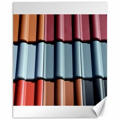 Shingle Roof Shingles Roofing Tile Canvas 11  X 14