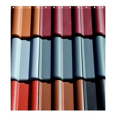 Shingle Roof Shingles Roofing Tile Shower Curtain 66  X 72  (large)
