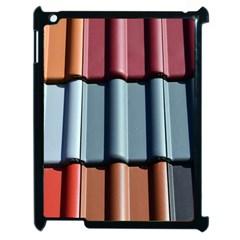 Shingle Roof Shingles Roofing Tile Apple Ipad 2 Case (black)