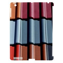 Shingle Roof Shingles Roofing Tile Apple Ipad 3/4 Hardshell Case (compatible With Smart Cover)