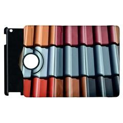 Shingle Roof Shingles Roofing Tile Apple iPad 2 Flip 360 Case