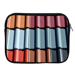 Shingle Roof Shingles Roofing Tile Apple iPad 2/3/4 Zipper Cases