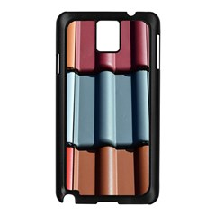 Shingle Roof Shingles Roofing Tile Samsung Galaxy Note 3 N9005 Case (black)