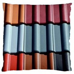 Shingle Roof Shingles Roofing Tile Large Flano Cushion Case (two Sides)