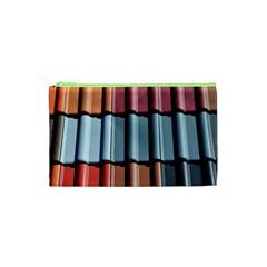 Shingle Roof Shingles Roofing Tile Cosmetic Bag (XS)
