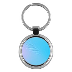 Background Graphics Lines Wave Key Chains (Round)