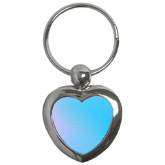 Background Graphics Lines Wave Key Chains (Heart)