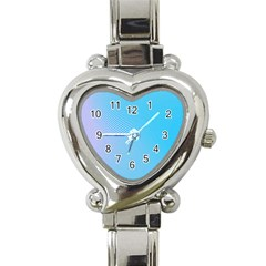 Background Graphics Lines Wave Heart Italian Charm Watch