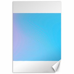 Background Graphics Lines Wave Canvas 20  x 30