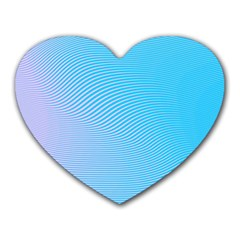 Background Graphics Lines Wave Heart Mousepads