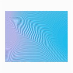Background Graphics Lines Wave Small Glasses Cloth (2 Side)