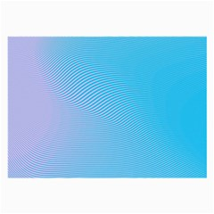 Background Graphics Lines Wave Large Glasses Cloth (2 Side)