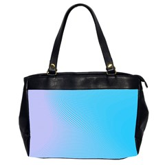 Background Graphics Lines Wave Office Handbags (2 Sides)