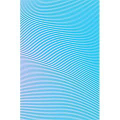 Background Graphics Lines Wave 5.5  x 8.5  Notebooks