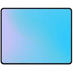 Background Graphics Lines Wave Fleece Blanket (Medium)