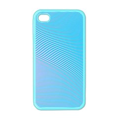 Background Graphics Lines Wave Apple Iphone 4 Case (color)