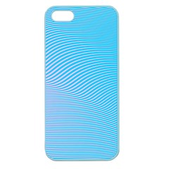 Background Graphics Lines Wave Apple Seamless Iphone 5 Case (color)
