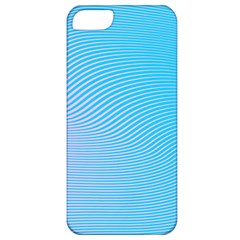 Background Graphics Lines Wave Apple iPhone 5 Classic Hardshell Case