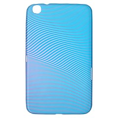 Background Graphics Lines Wave Samsung Galaxy Tab 3 (8 ) T3100 Hardshell Case