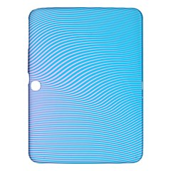 Background Graphics Lines Wave Samsung Galaxy Tab 3 (10.1 ) P5200 Hardshell Case