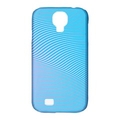Background Graphics Lines Wave Samsung Galaxy S4 Classic Hardshell Case (PC+Silicone)