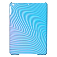 Background Graphics Lines Wave Ipad Air Hardshell Cases