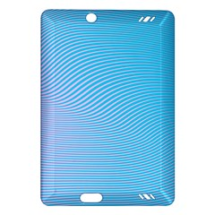 Background Graphics Lines Wave Amazon Kindle Fire HD (2013) Hardshell Case