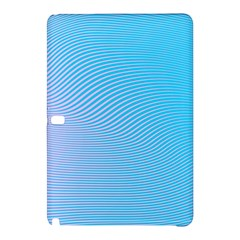 Background Graphics Lines Wave Samsung Galaxy Tab Pro 10 1 Hardshell Case