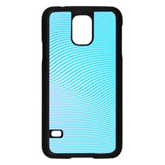 Background Graphics Lines Wave Samsung Galaxy S5 Case (black)