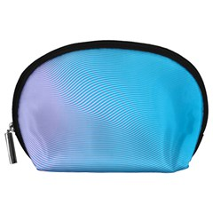 Background Graphics Lines Wave Accessory Pouches (large)