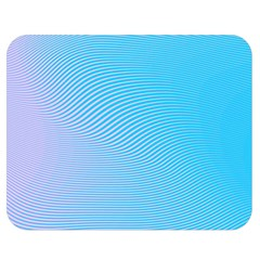 Background Graphics Lines Wave Double Sided Flano Blanket (Medium)