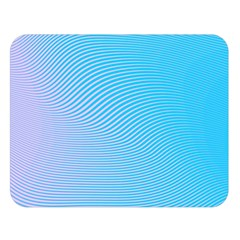 Background Graphics Lines Wave Double Sided Flano Blanket (large)