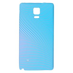 Background Graphics Lines Wave Galaxy Note 4 Back Case