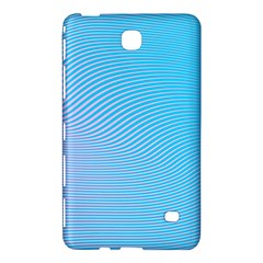 Background Graphics Lines Wave Samsung Galaxy Tab 4 (8 ) Hardshell Case