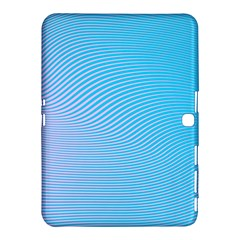 Background Graphics Lines Wave Samsung Galaxy Tab 4 (10 1 ) Hardshell Case
